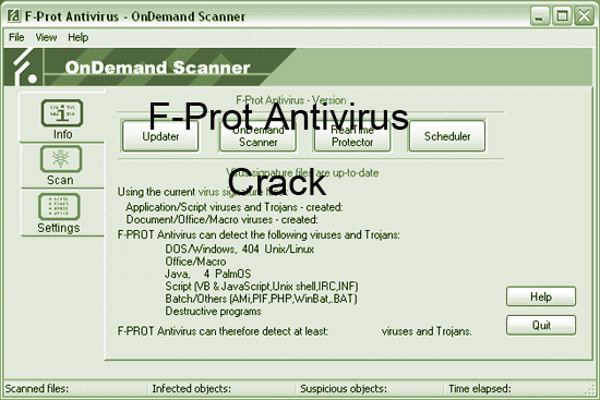 F-Prot Antivirus 2015 Crack License Key Keygen Download