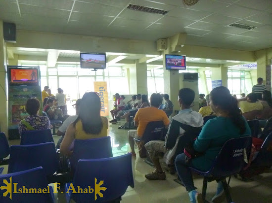 Waiting area in Puerto Princesa Airport