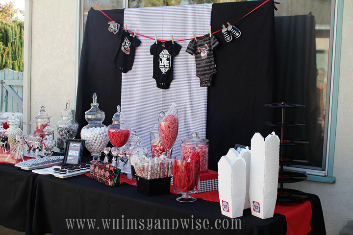 Whimsy Wise Events Rock A Bye Baby Shower Baby Brixton