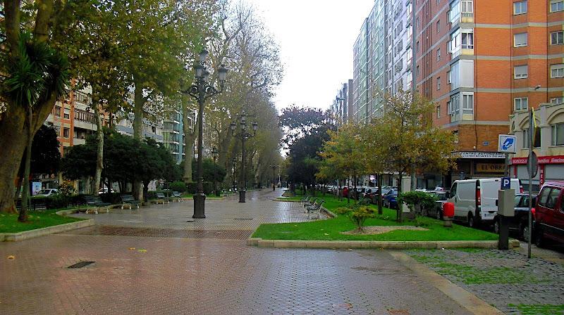 Alameda de Oviedo en Santander