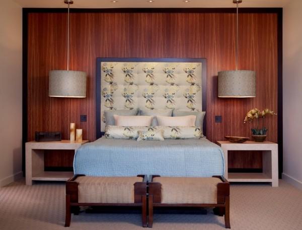 Pendant Lighting Beside Bed : Bedside pendant lighting ideas studio three