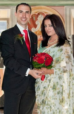 Celina Jaitly's wedding