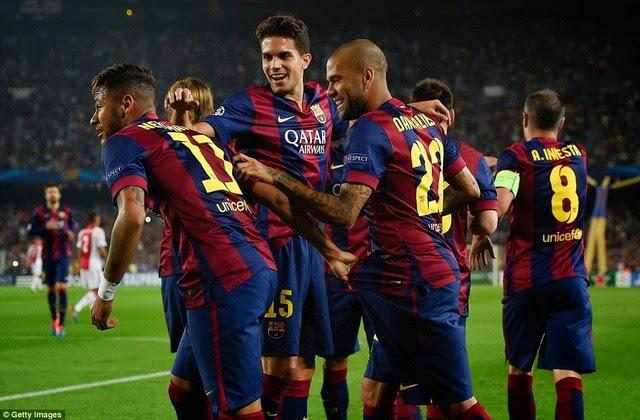 Lượt trận thứ 3 vòng bảng Champions League 2014/15