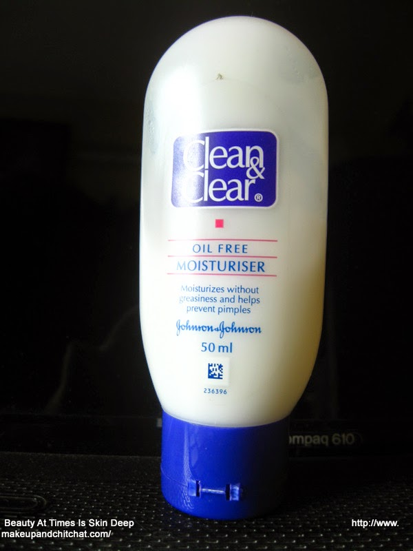 Clean and Clear Face Moisturizer