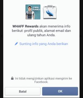 konfirmasi akun facebook