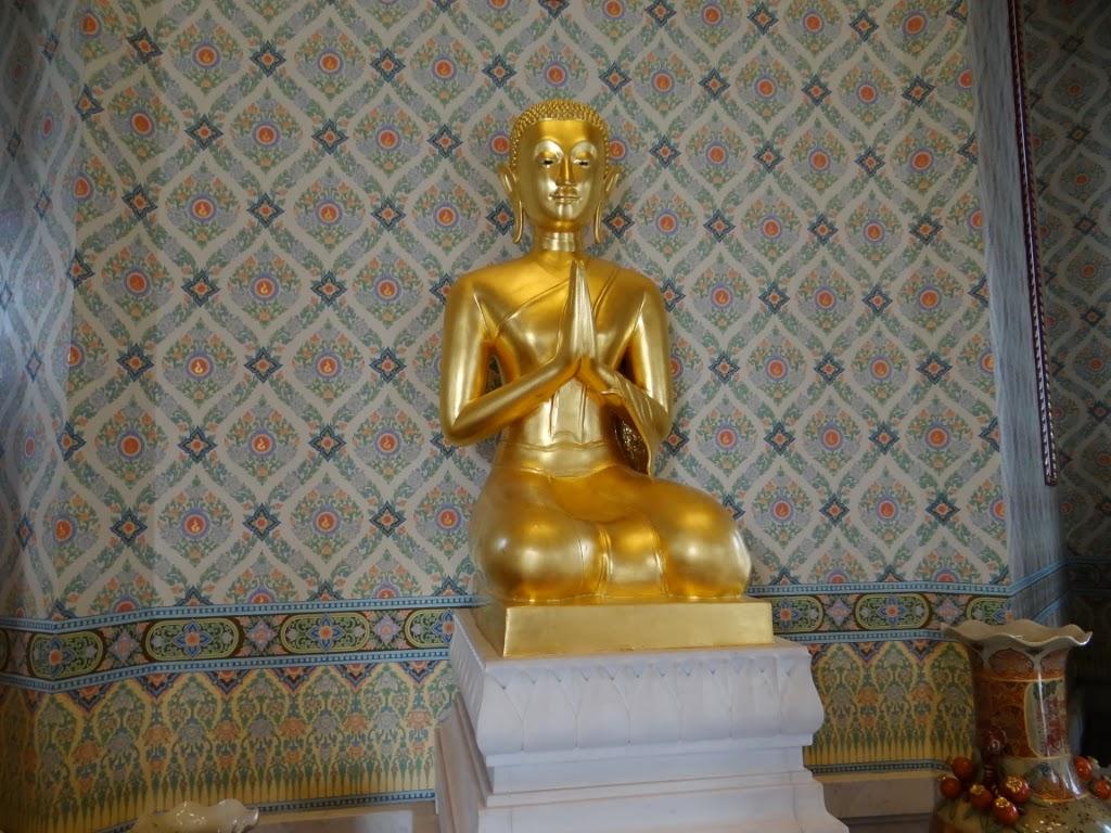 Złoty Budda - Bangkok