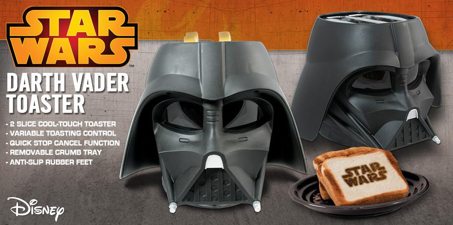 Der Darth Vader Toaster | Möge die dunkle Seite der Macht nicht dein Frühstück verderben
