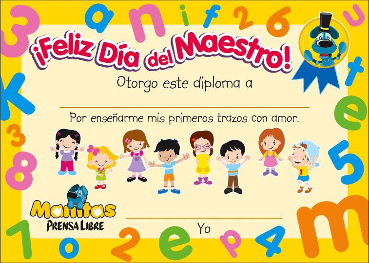 Diplomas Para Maestros De Ninos