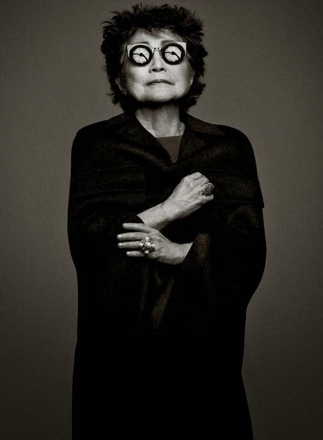 Yoko Ono Magazine Phot...