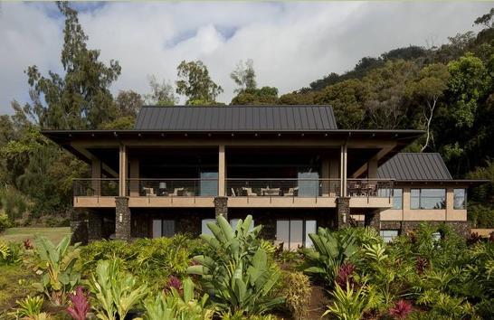 Fotos de techos frentes de casas con techo de chapa for Modelos de casas con techo de chapa