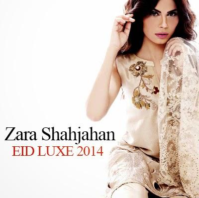 Zara Shahjahan Eid Collection 2014 | Latest Eid Luxe Dress Fashion