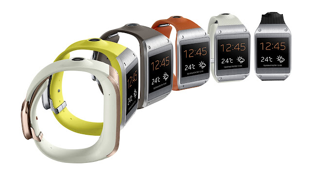 Samsung GALAXY Gear watch colors