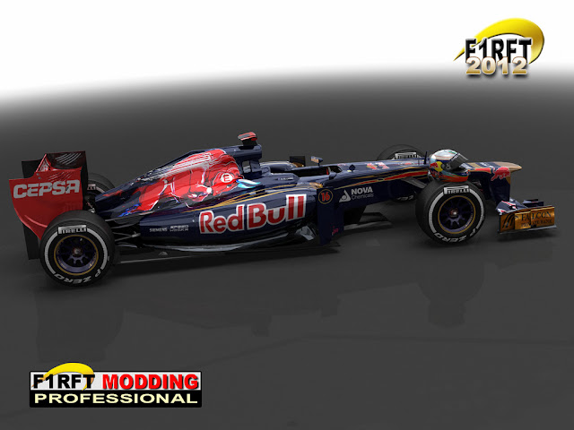 Toro Rossos rfactor F1 RFT 2012 images