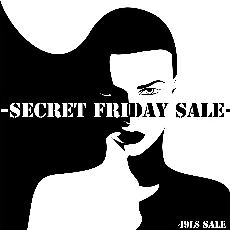 Secret Friday Sale Logo