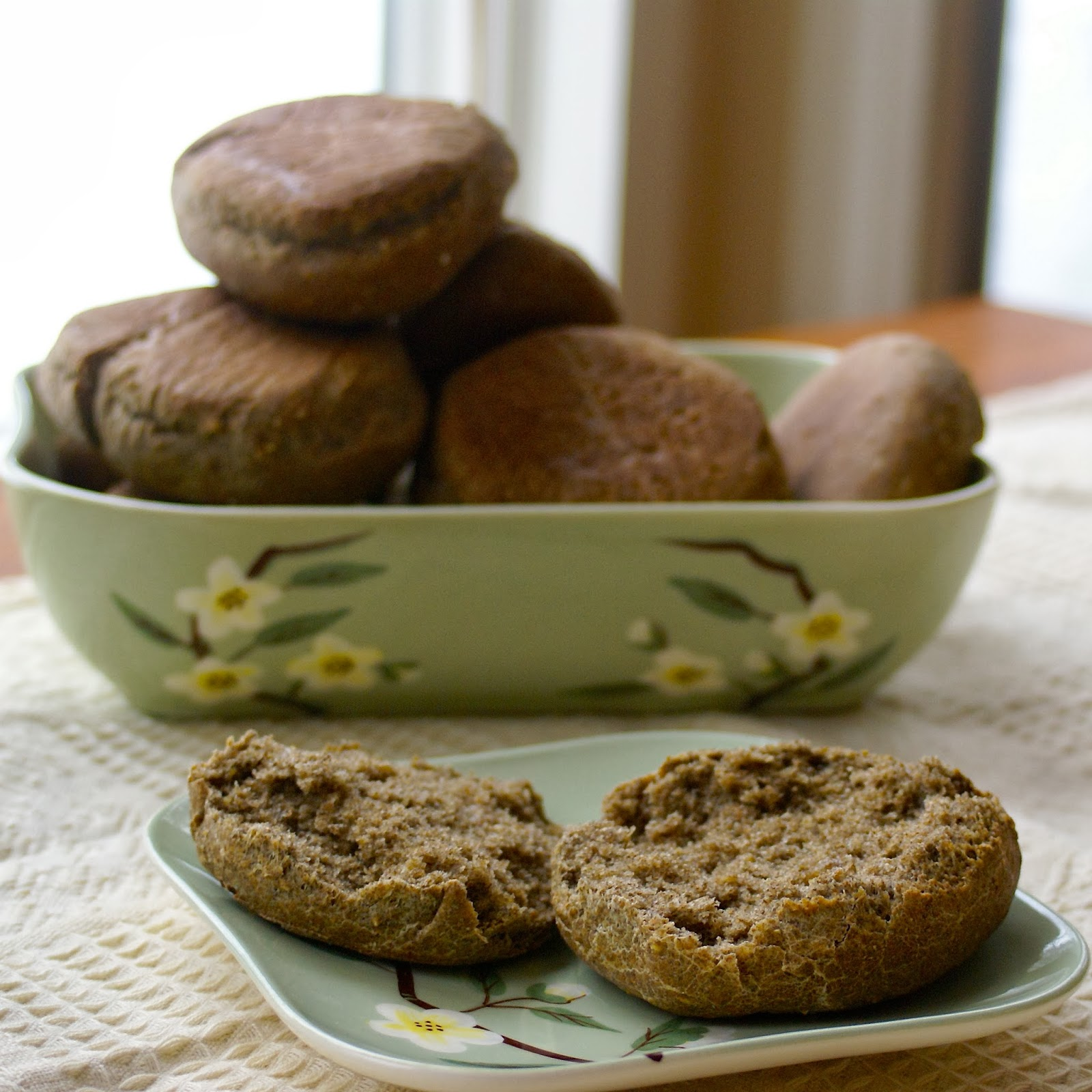 Margaret's Dish: Multi-Grain English Muffins