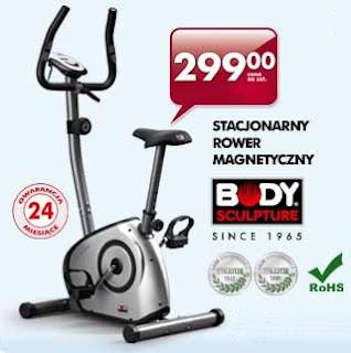 stacjonarny magnetyczny rower treningowy Biedronka