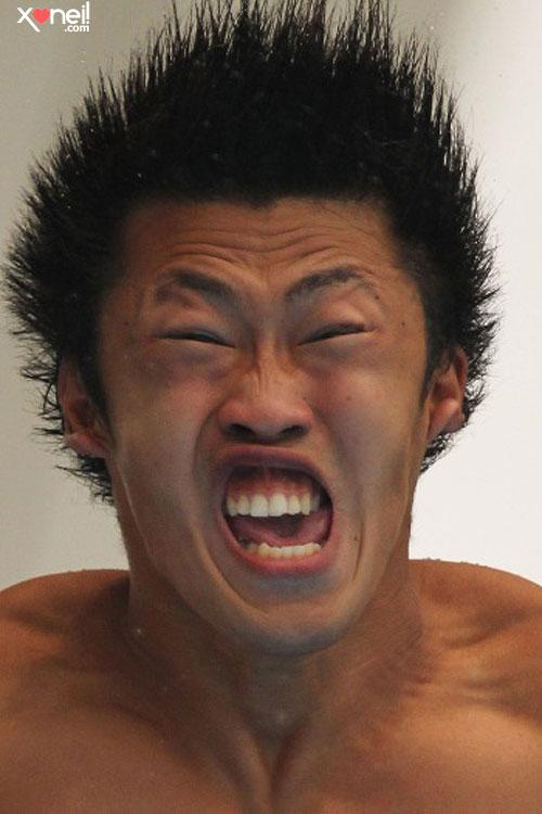 Tirinha Gordo Fresco: As caretas horríveis dos atletas que buscam a perfeição