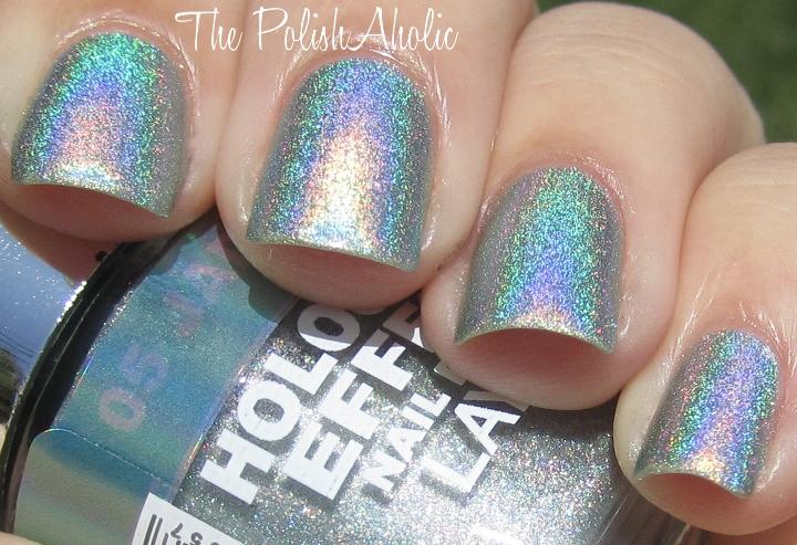 The PolishAholic: Layla Hologram Effect Jade Groove