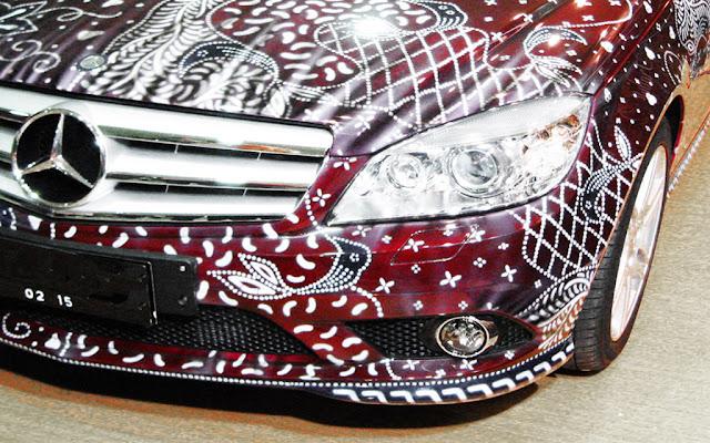 mobil mercy batik