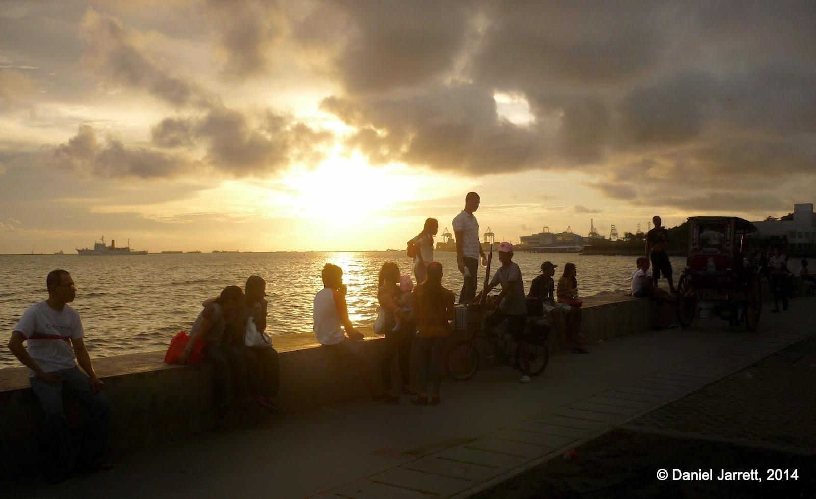 Waiting for sunset Manila