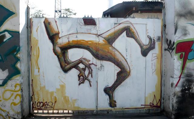 coas graffiti arte callejero de la calle exposición en santiago de chile