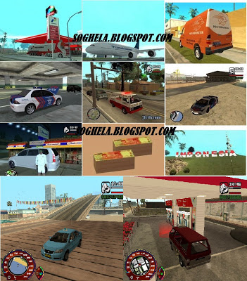 Game GTA SanAndreas PC MOD INDONESIA Compressed 887 MB