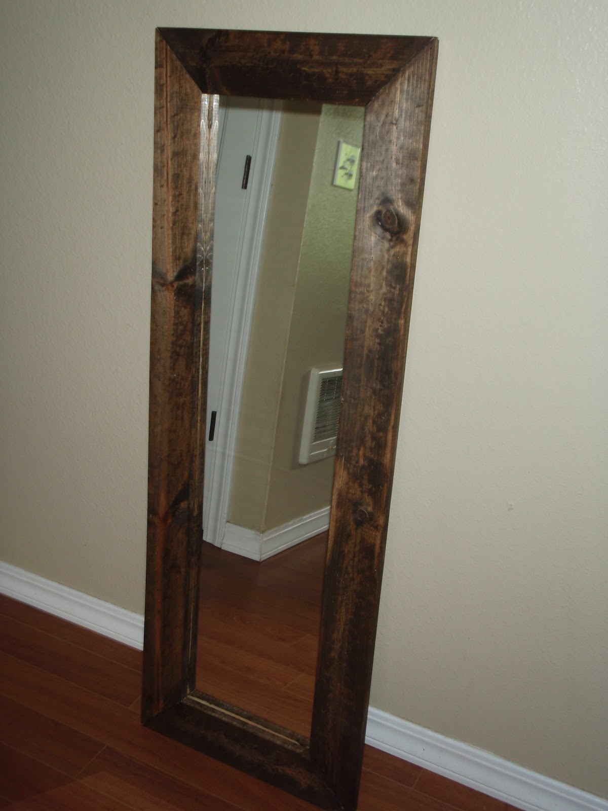 Tons of fun momma diy full length mirror for Full size mirror