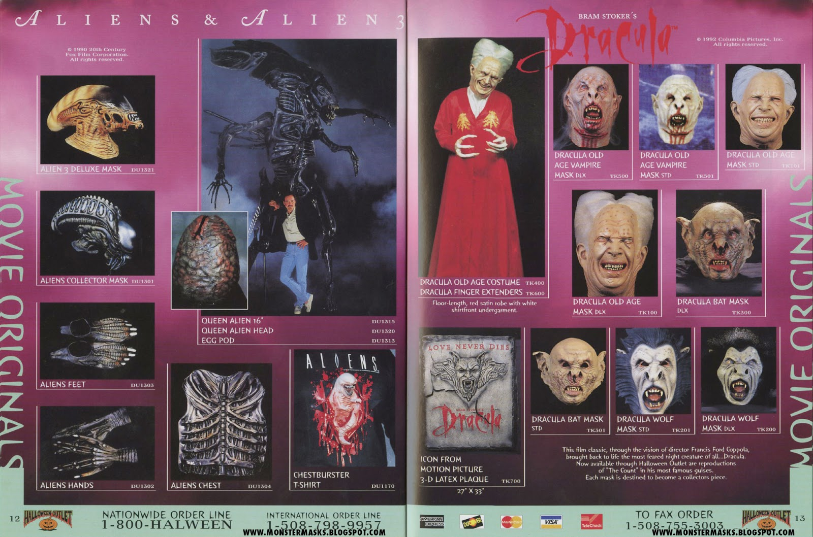 1996 halloween outlet catalog - part 2 | blood curdling blog of