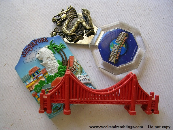 souvenir fridge magnets san francisco hongkong