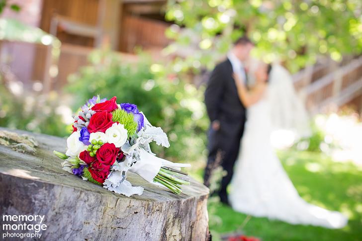 Yakima wedding at Cascade Garden