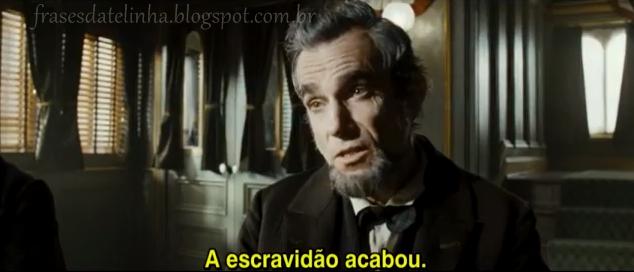 Frases do filme Lincoln