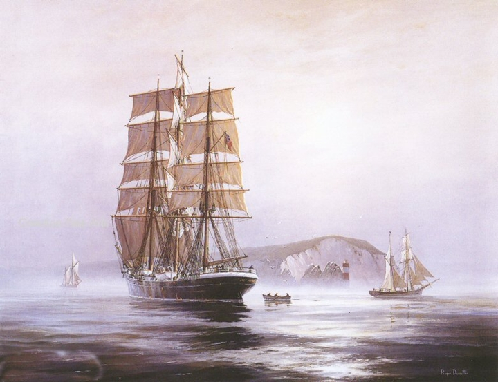 Roger Desoutter 1923   British Maritime painter