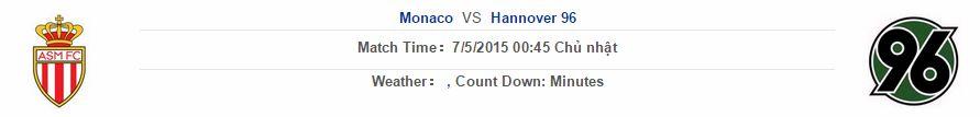 Monaco vs Hannover link vào 12bet