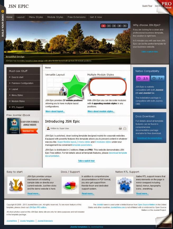 Joomla 3.6 Templates Download