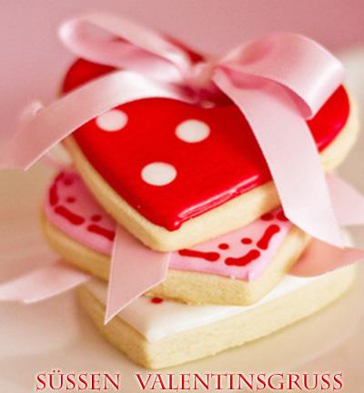 Süße Valentinsgrüße