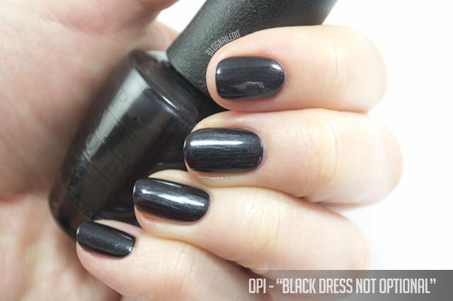 OPI - Black Dress Not Optional