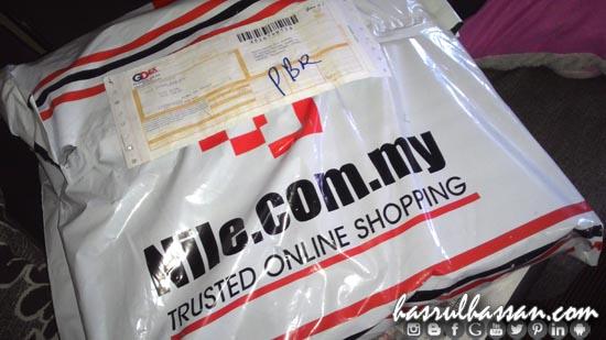 Pengalaman pertama beli belah di Nile.com.my