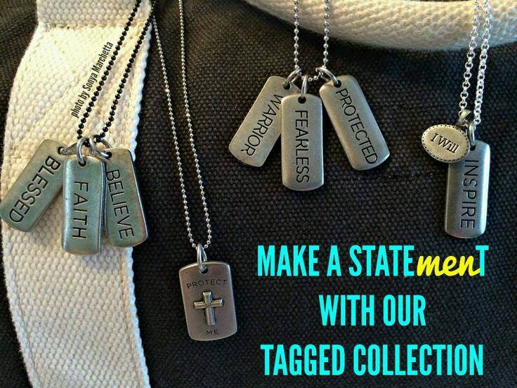 Origami Owl Tagged Collection for Men | Shop StoriedCharms.com