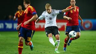 Laga Spanyol Vs Jerman, Berakhir 0-1
