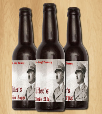 Hitler Beer from Mein Kampf Brewery