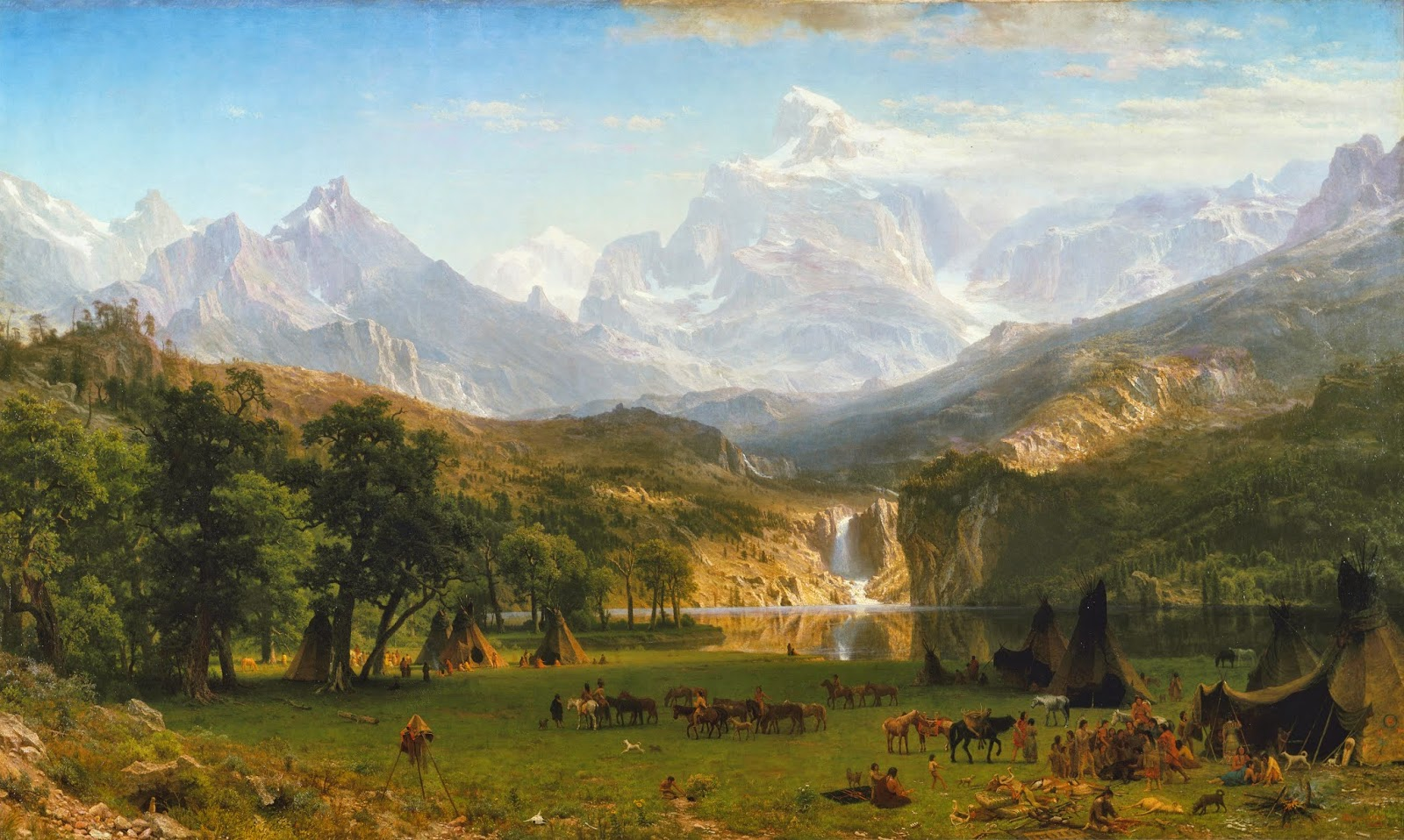 Life39s Marginalia The Grand Landscape Pt 1 Albert Bierstadt