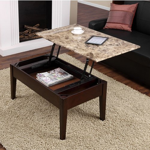 Total Fab Coffee Table That Raises Up For Food Fun 39 N Games