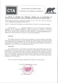 Remitimos al Comité de Empresa un escrito relativo a la comunicación de incidencias y medidas frent