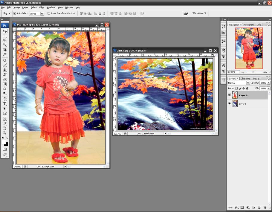 Cara Memodifikasi Background Foto dengan Photoshop