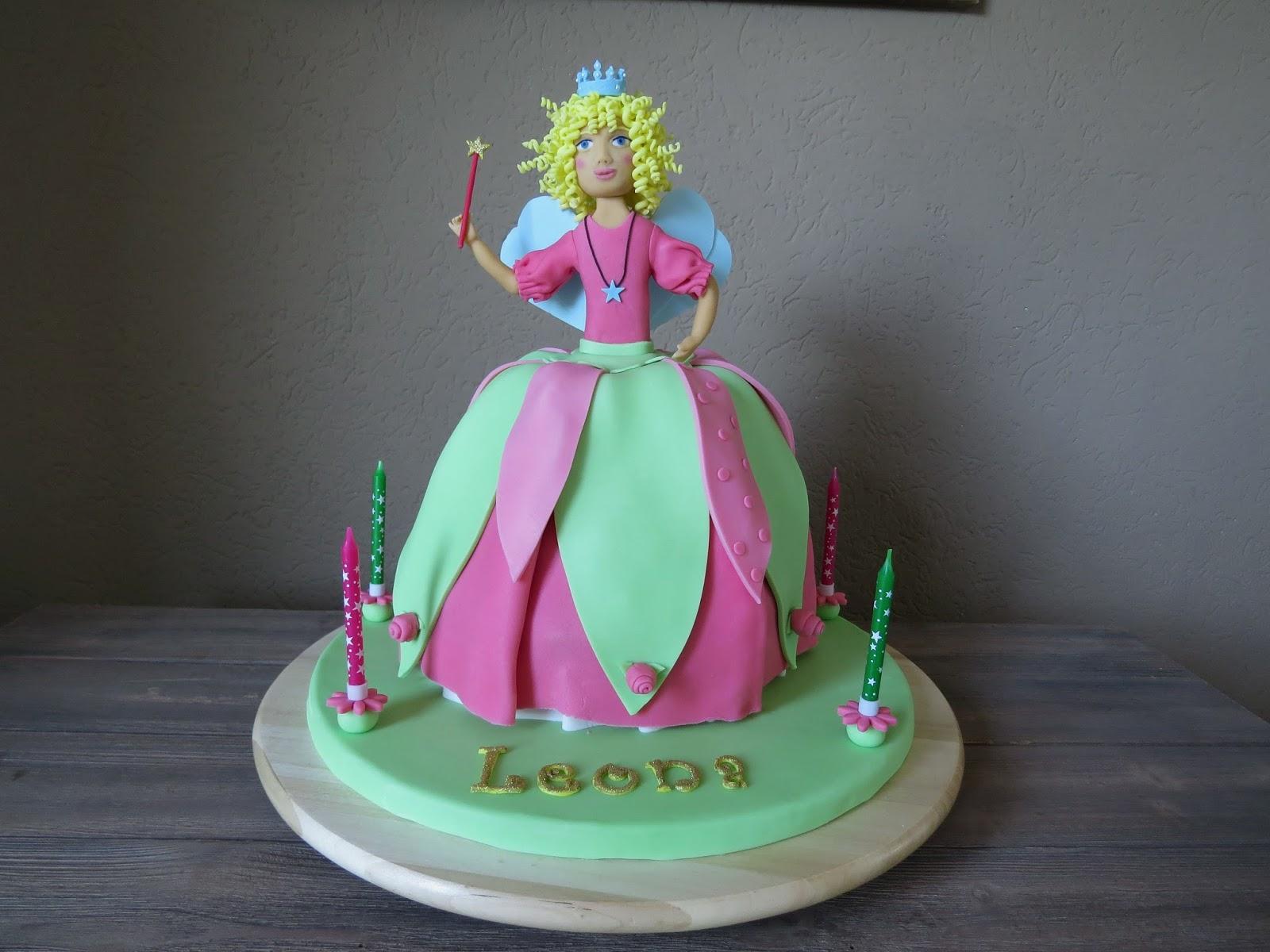 Backorphine Lillifee Kuchen Teil 2