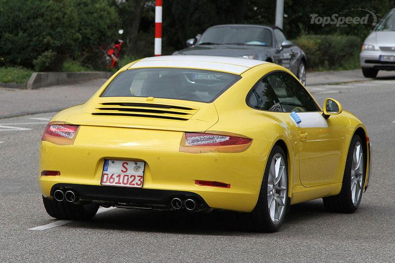 New Porsche 911 991