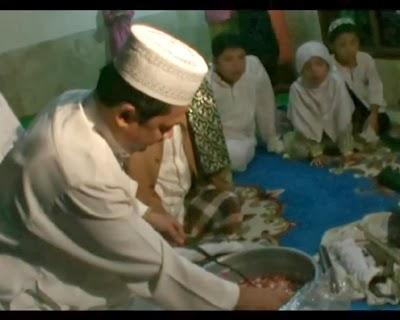 ritual cuci keris