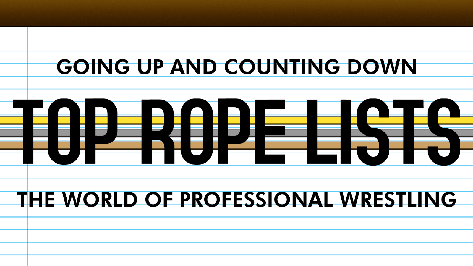 top countdown WWE wrestling list logo top rope