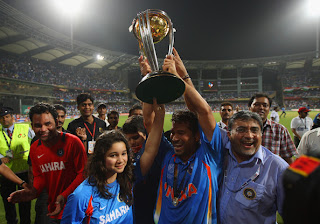 Arjun Sachin Sara Tendulkar family Photos Worldcup