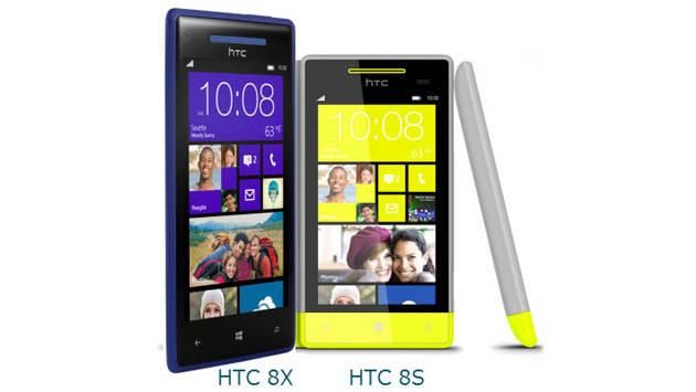 HTC 8S dan HTC 8X